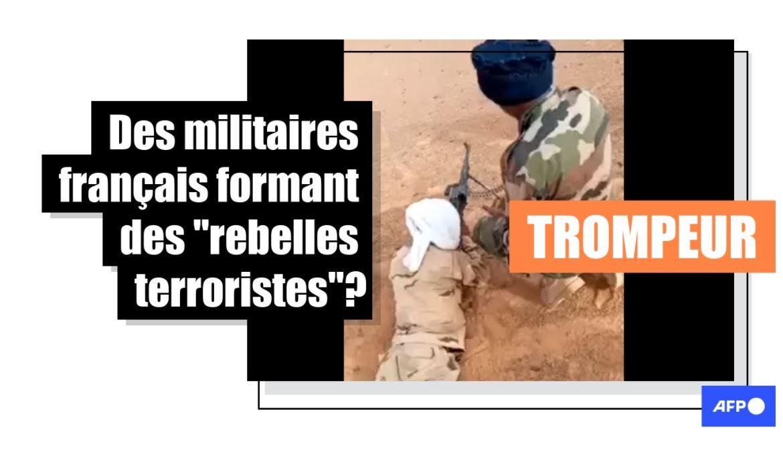 """Attention, ces soldats français ne forment pas des """"rebelles terroristes"""""""