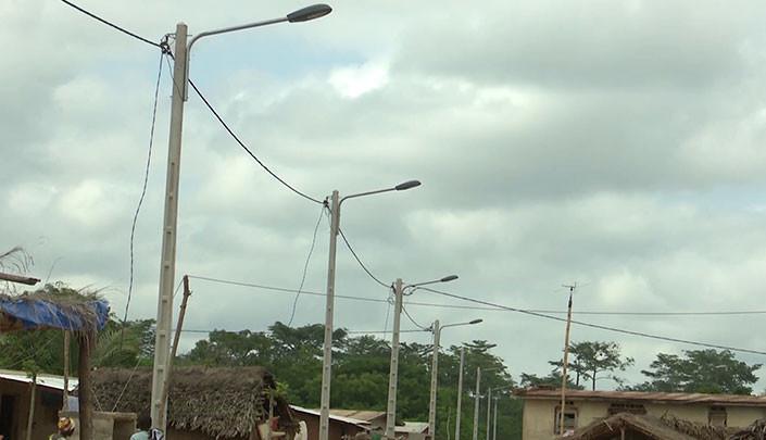 Dimbokro: la localité de N'zissiessou raccordée au réseau électrique