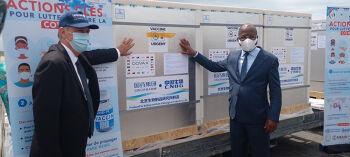 Covid-19 : La Côte d'Ivoire réceptionne 816 000 doses de vaccin SINOPHARM de la Chine