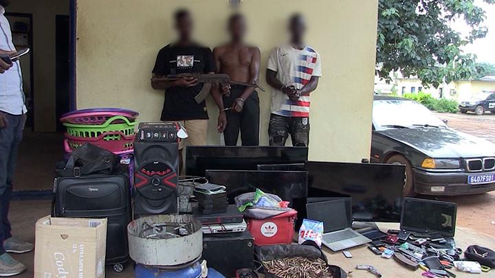 Man : Un gang mis hors d'état de nuire par la Police criminelle