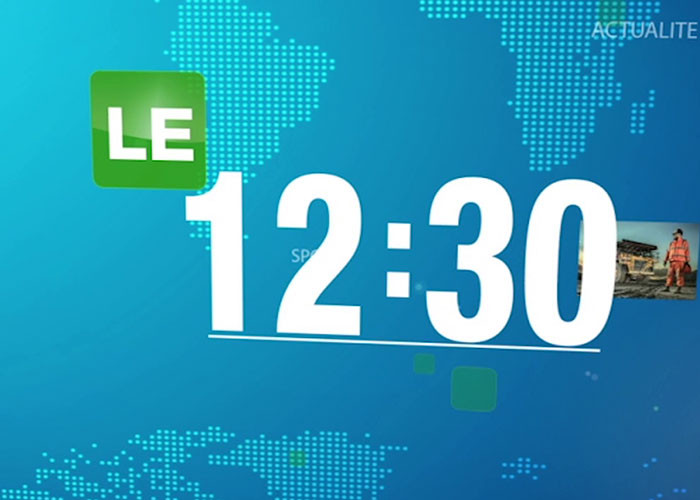 Le 12h30 du 25 mars 2021