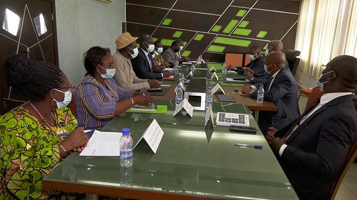 Coopération : La RTI partage son expérience avec le Conseil Supérieur de la Communication du Faso