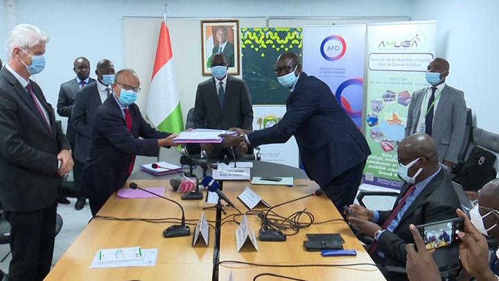 Mobilité urbaine du grand Abidjan: L'AFD apporte son soutien à la Côte d'Ivoire