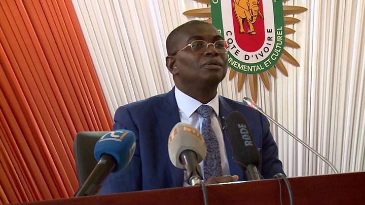 """Invité des """"Grandes rencontres du Cesec"""", le ministre Félix Anoblé présente son département ministériel"""