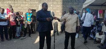 Anyama : Le ministre Laurent Tchagba promet une solution définitive aux problèmes d'eau dans un mois