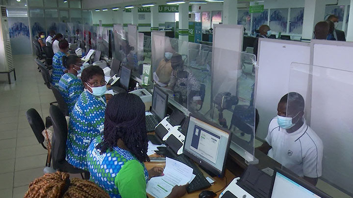 Le Président de l'Assemblée Nationale visite les installations du système de vidéo-verbalisation