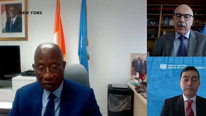 La Côte d'Ivoire et les Nations Unies repensent leur coopération en matière de lutte contre le terrorisme