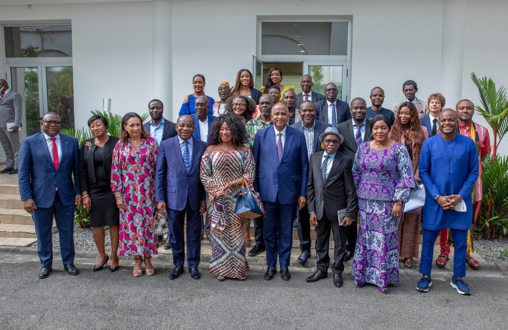 Primature : Patrick Achi rencontre les acteurs  du 7e art ivoirien et annonce la création d'un fonds de garantie pour la production cinématographique