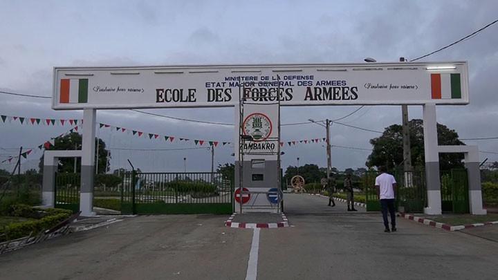 Défense : Immersion au sein de l'Ecole des Forces Armées de Zambakro (Yamoussoukro)