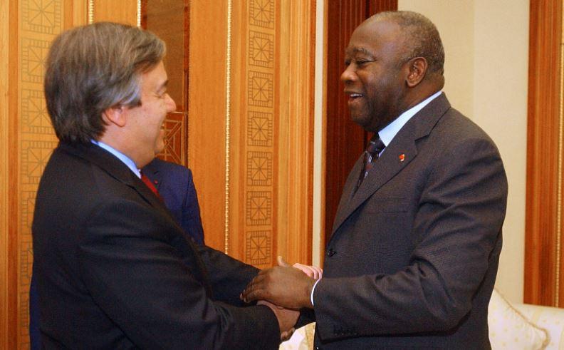 """Non, le secrétaire général de l'ONU n'a pas exprimé son """"admiration"""" pour Laurent Gbagbo après son acquittement par la CPI"""