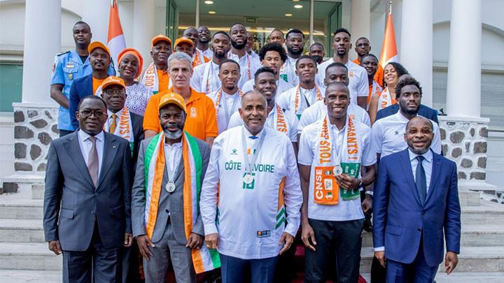 Le Chef de l'Etat récompense les Eléphants basketteurs : Ils empochent 100 millions FCFA