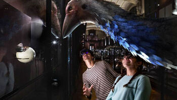 Des espèces disparues reprennent vie au Muséum d'histoire naturelle